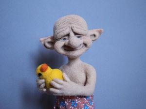 Мастер-класс по валянию лепрекона. | Ярмарка Мастеров - ручная работа, handmade