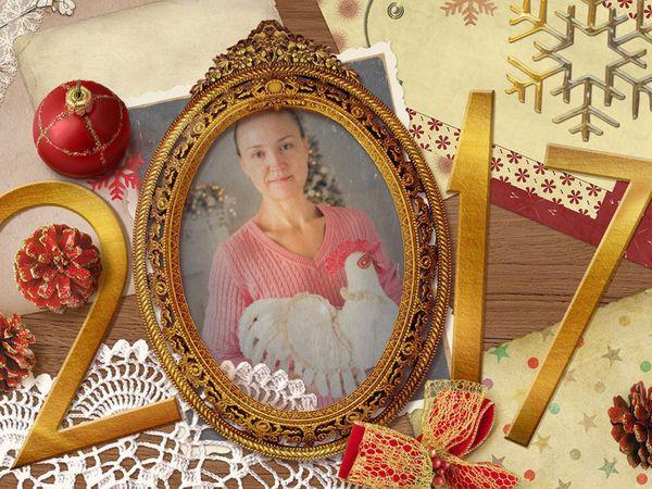 Новогоднее видеопоздравление от ND-decor, chicken ! | Ярмарка Мастеров - ручная работа, handmade