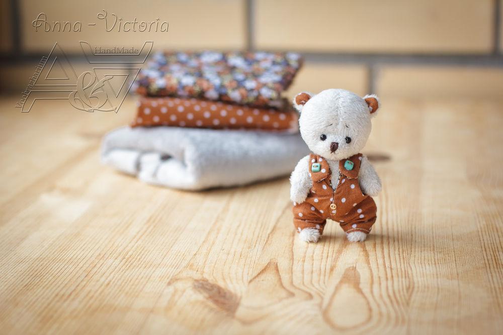 teddyanvi, мишка в платье, авторские мишки