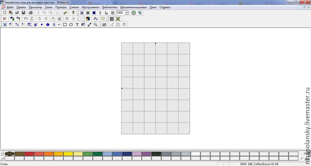 Как самим сделать схему вышивки по фотографии
