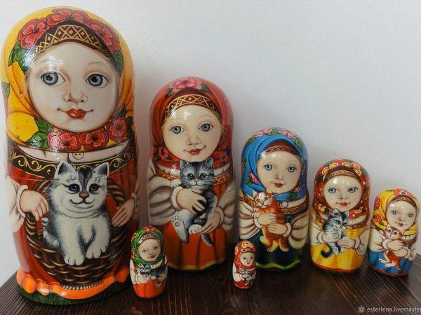 Мотря с кисями | Ярмарка Мастеров - ручная работа, handmade