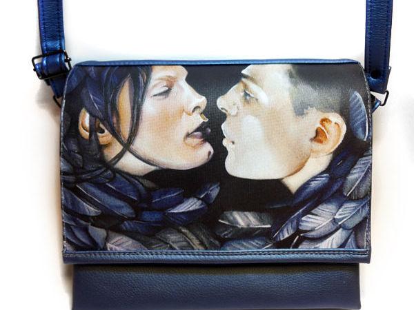 Описание сумки со сменным клапаном Б-Иркинi. | Ярмарка Мастеров - ручная работа, handmade