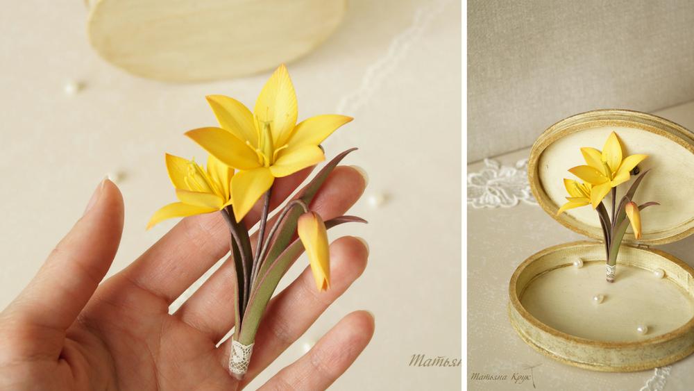 брошь брошка брошки, изделие ручной работы, брошь купить, миниатюрные цветы, цветы брошь броши, желтые цветы, весенняя брошь, цветы из фоамирана, брошь букет букетик, брошь из цветов