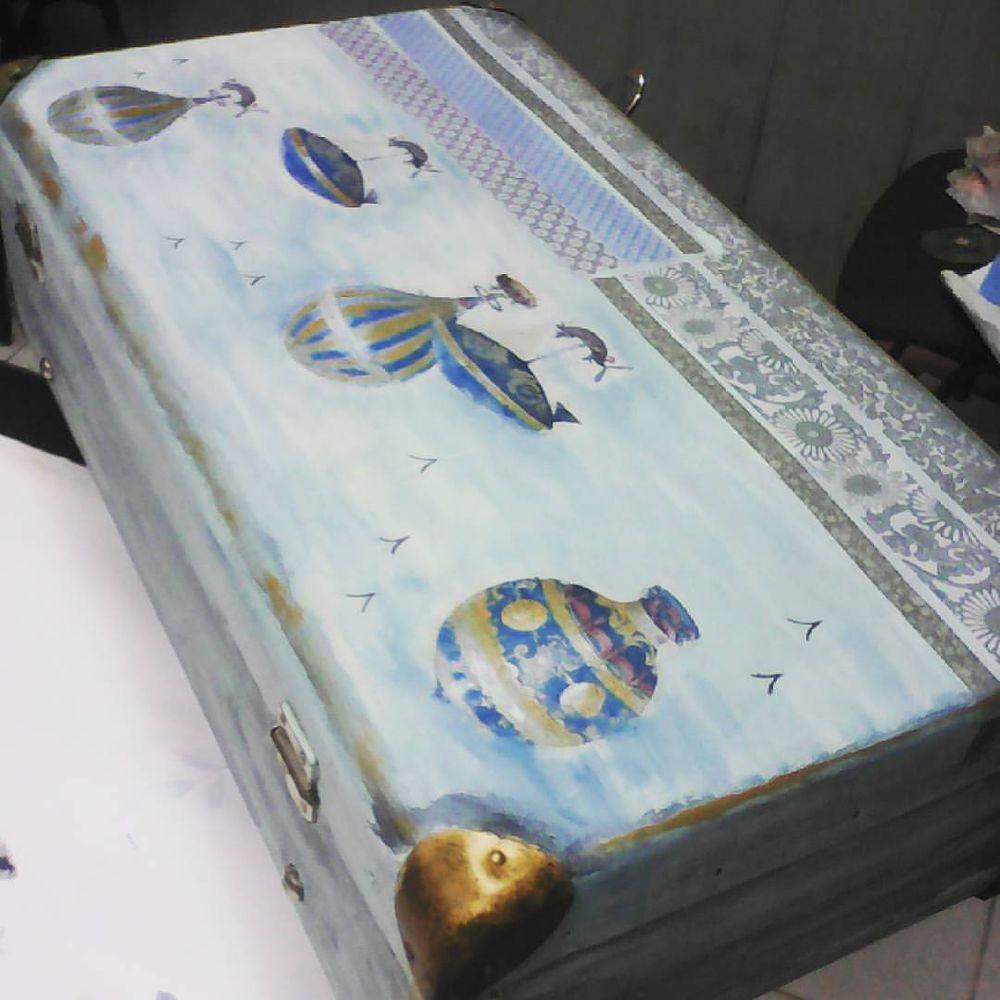 МК по декупажу чемодана 13.10.16, фото № 9