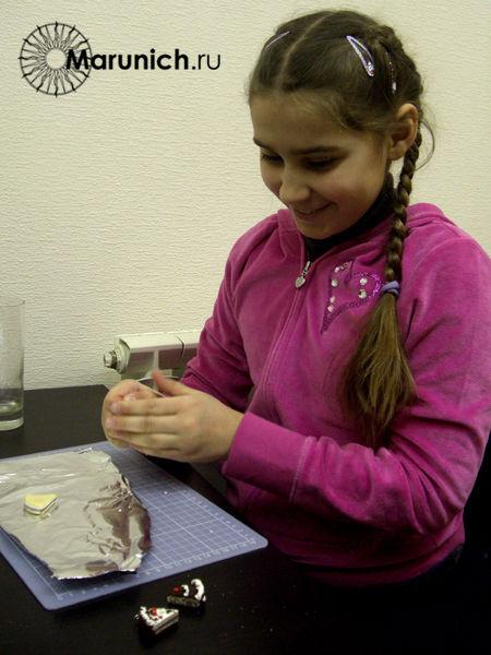 полимерная глина мастер-класс, полимерная глина уроки для детей, украшения своими руками