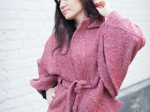 Сегодня скидка -20% на готовые пальто и пончо! | Ярмарка Мастеров - ручная работа, handmade