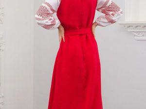 Традиционное русское-народное платье Плодородие. Ярмарка Мастеров - ручная работа, handmade.