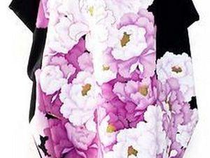 Платье из кимоно. Платье-кокон. | Ярмарка Мастеров - ручная работа, handmade