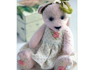 Розыгрыш мишки Тедди | Ярмарка Мастеров - ручная работа, handmade