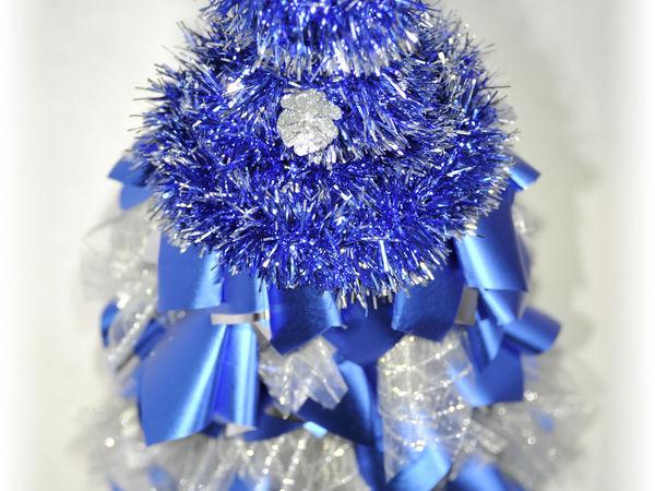 Новогоднее украшение бутыли  на праздничный стол | Ярмарка Мастеров - ручная работа, handmade