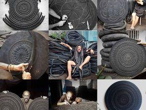 Мандалы из шин. Ярмарка Мастеров - ручная работа, handmade.