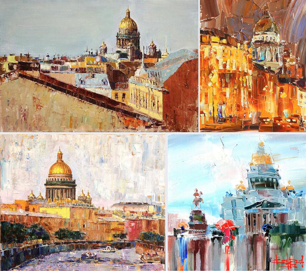 Konstantin Sukhopluev: Artist Painting Rain, фото № 28