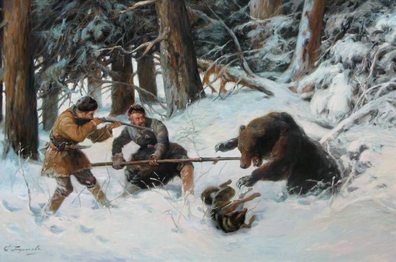 медведи в живописи