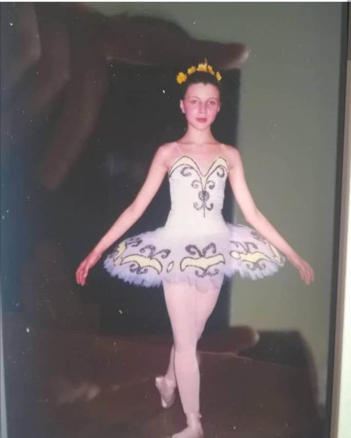 балерина, история шитья, девочка, кукла из носка, балеринка