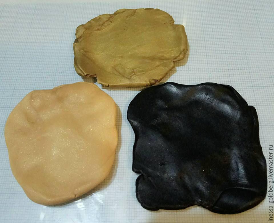 полимерная глина, инесса гольдберг