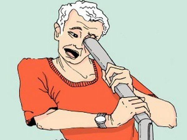 Мужчина и пылесос | Ярмарка Мастеров - ручная работа, handmade