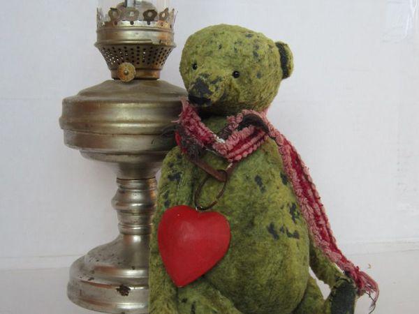 Бруталный представитель медведей тедди Гордей | Ярмарка Мастеров - ручная работа, handmade