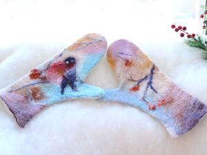 Вебинар  Живопись шерстью в войлоке | Ярмарка Мастеров - ручная работа, handmade