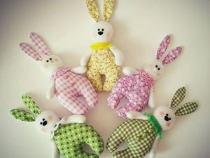 How to Sew Bunnies for Kids. Livemaster - handmade
