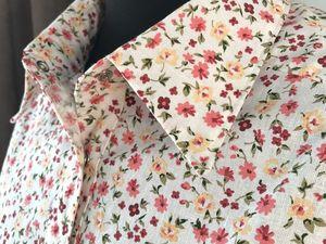"""Аукцион на рубашку """"Прованс"""" — Стартовая цена 1000 рублей!. Ярмарка Мастеров - ручная работа, handmade."""
