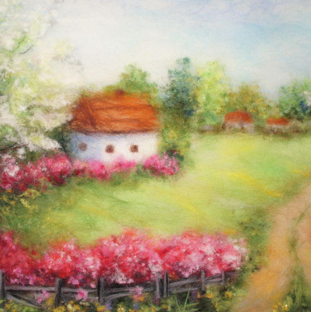 картина с цветами, мастер класс по живописи, мк москва, шерстяная акварель, подсолнухи картина