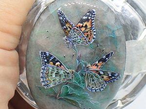 Аукцион. Бабочки на шаттуките | Ярмарка Мастеров - ручная работа, handmade