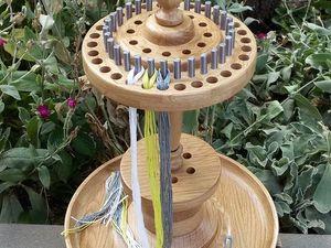 Как быстро заправить нитки мулине в органайзер. Ярмарка Мастеров - ручная работа, handmade.