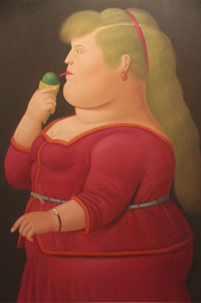 Толстые люди на картинах художников почти каждого