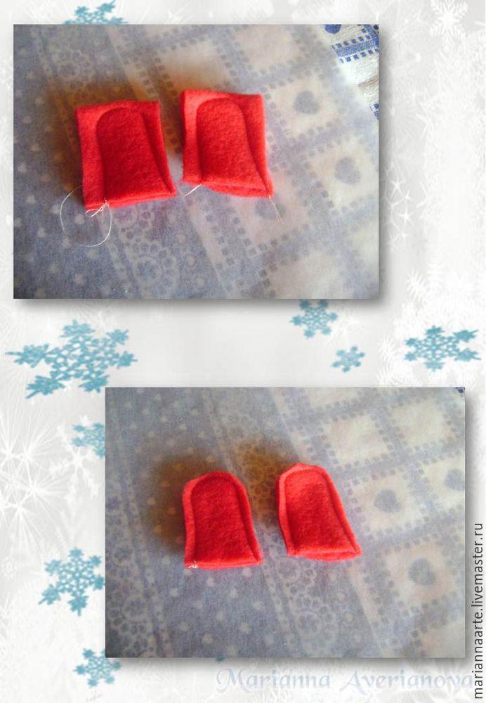 Мастер-класс по созданию забавной новогодней игрушки «Снеговичок-тюфячок», фото № 16
