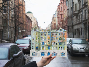 Дом с совами на Петроградской стороне | Ярмарка Мастеров - ручная работа, handmade