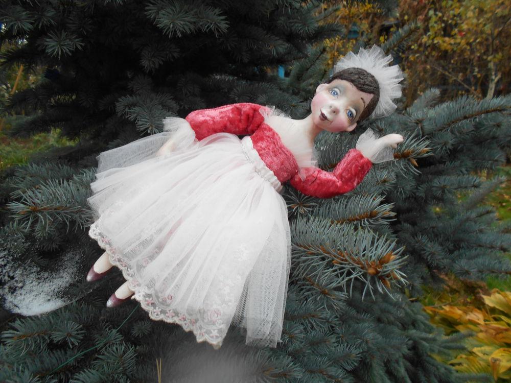 папье-маше, подвижная кукла
