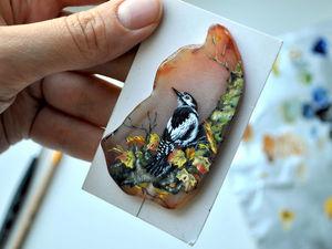Скоро новинка! Лаковая миниатюра.. Ярмарка Мастеров - ручная работа, handmade.
