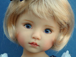 Surprisingly Delicate Dolls by Dianna Effner. Livemaster - handmade