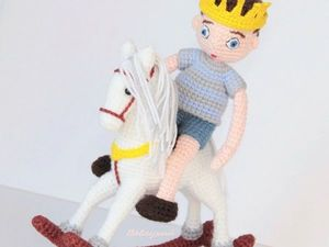 Принц на белом коне. Ярмарка Мастеров - ручная работа, handmade.
