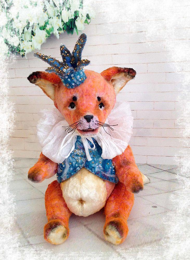 лиса, купить авторская кукла, коллекционная игрушка