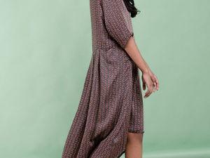 Добрый розыгрыш на комфортное платье!!! Мы ждем вас!!!. Ярмарка Мастеров - ручная работа, handmade.