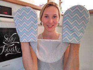Создаем прихватку на две руки из ткани. Ярмарка Мастеров - ручная работа, handmade.