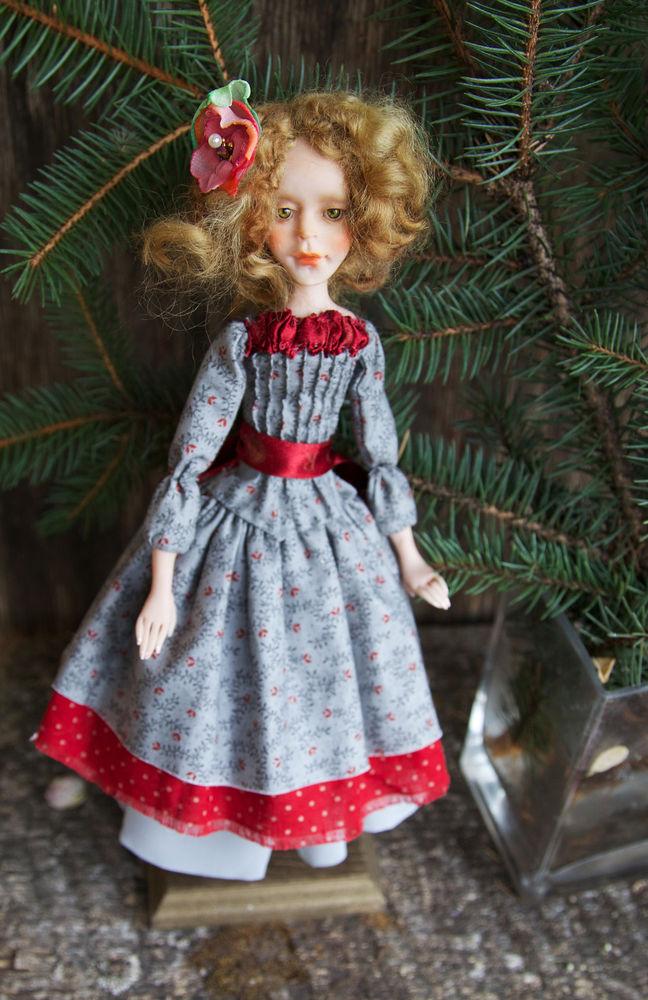 Дополнительные фотографии куклы ручной работы Софии., фото № 16