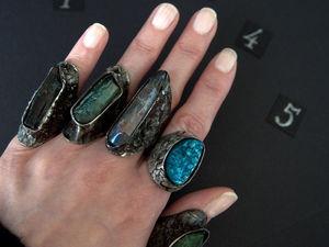 Новые ведьминские кольца. Ярмарка Мастеров - ручная работа, handmade.