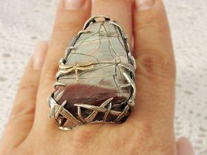 Скидка 10% на кольца с натуральными камнями!. Ярмарка Мастеров - ручная работа, handmade.