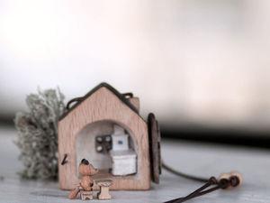 Избушка лубяная. Ярмарка Мастеров - ручная работа, handmade.