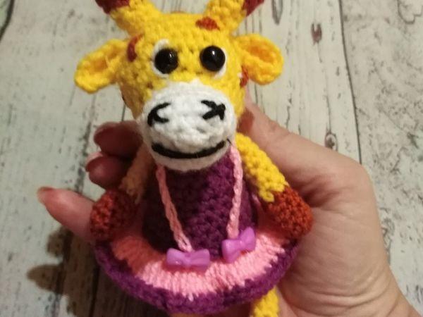 Вяжем крючком игрушку Жирафочку | Ярмарка Мастеров - ручная работа, handmade