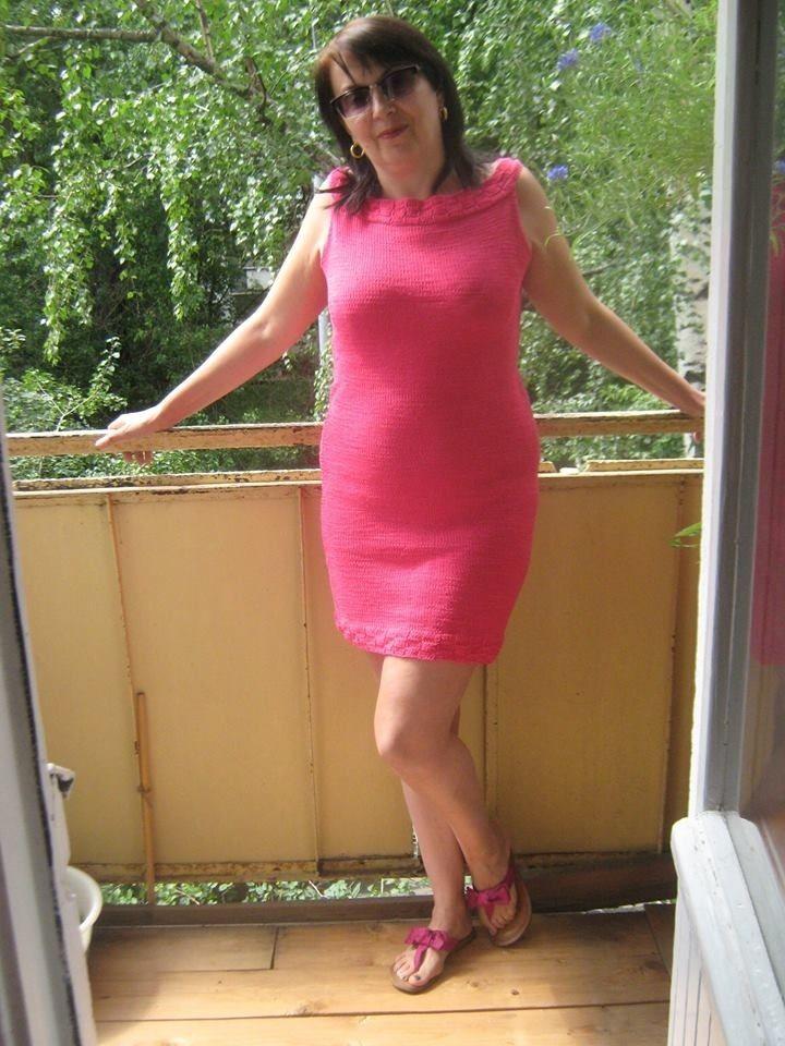 платье на заказ, платье из хлопка, летнее платье, низкая цена, розовое лето, лето