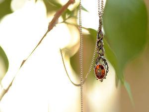Новинка — серебряный кулон с граненым камнем Кадуцей доступен к заказу. Ярмарка Мастеров - ручная работа, handmade.