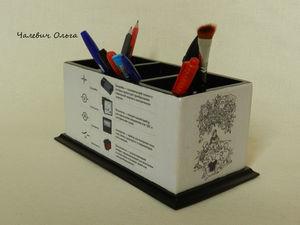 История одной карандашницы.... Ярмарка Мастеров - ручная работа, handmade.