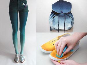 Как сделать омбре: красим одежду, обувь и домашний текстиль. Ярмарка Мастеров - ручная работа, handmade.