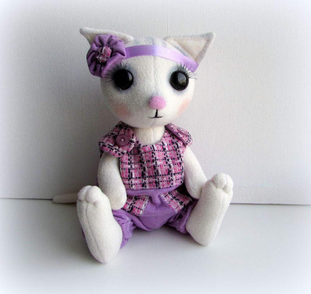 котенок, кошка игрушка, ручная работа