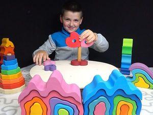Обзор деревянных игрушек. Ярмарка Мастеров - ручная работа, handmade.