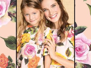 Семейная коллекция весна-лето 2017 от Dolce &amp&#x3B; Gabbana. Ярмарка Мастеров - ручная работа, handmade.