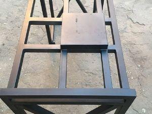 Подстолье для рабочего стола барбера. Ярмарка Мастеров - ручная работа, handmade.